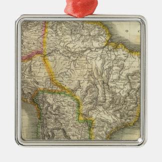 South America 19 Metal Ornament