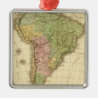 South America 20 Christmas Ornament