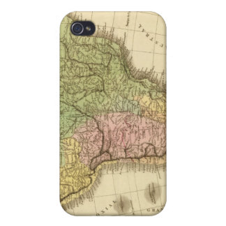 South America 20 Cover For iPhone 4