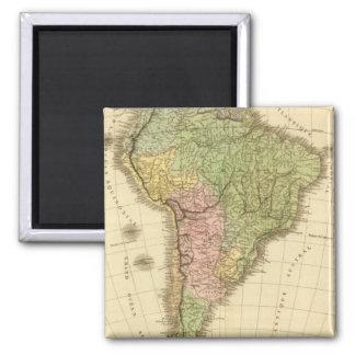 South America 20 Fridge Magnet