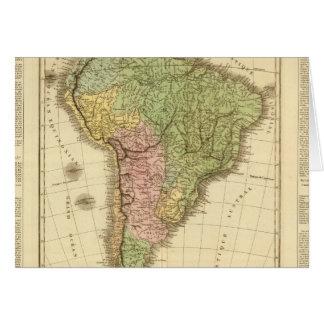 South America 20 Greeting Card