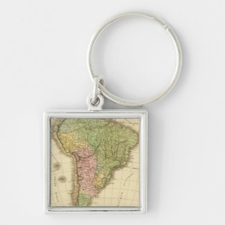 South America 20 Keychain