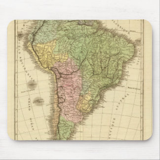 South America 20 Mousepad