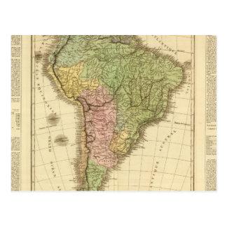 South America 20 Postcard