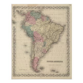 South America 20 Print