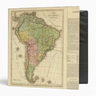 South America 20 Vinyl Binders