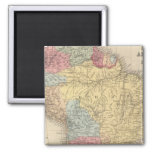 South America 21 2 Inch Square Magnet