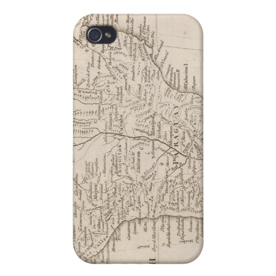 South America 21 iPhone 4 Covers