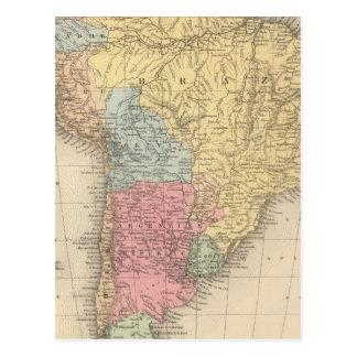South America 21 Postcard