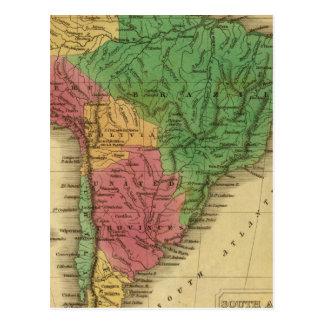South America 22 Postcard