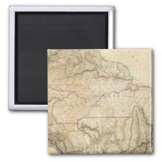 South America 25 2 Inch Square Magnet