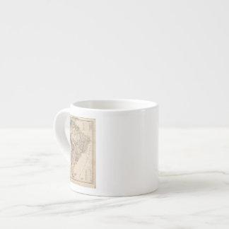 South America 25 6 Oz Ceramic Espresso Cup