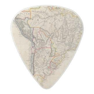 South America 25 Acetal Guitar Pick