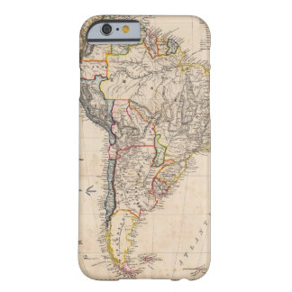 South America 25 Barely There iPhone 6 Case