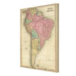 South America 25 Canvas Print