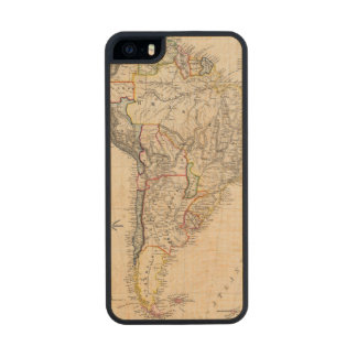 South America 25 Carved® Maple iPhone 5 Case