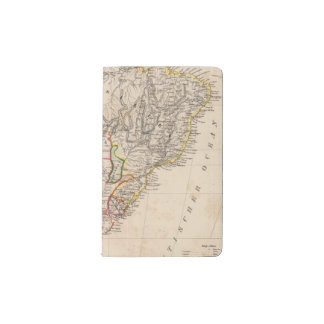 South America 25 Pocket Moleskine Notebook Cover With Notebook