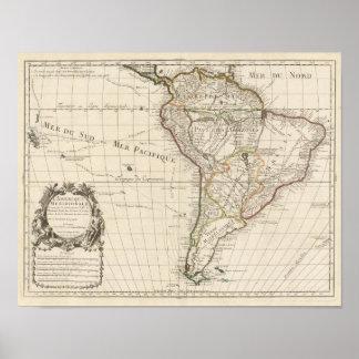 South America 25 Print