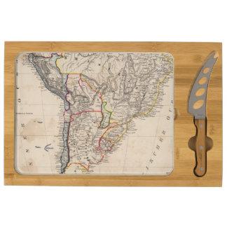 South America 25 Rectangular Cheeseboard