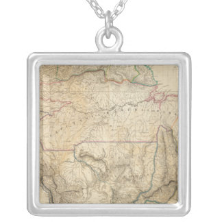 South America 25 Silver Plated Necklace