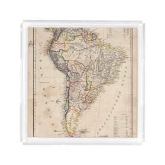 South America 25 Square Serving Trays