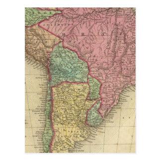 South America 28 Postcard