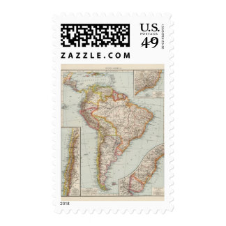 South America 2 Postage Stamp