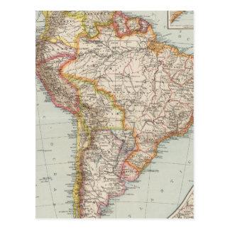 South America 2 Postcard