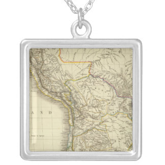 South America 34 Silver Plated Necklace