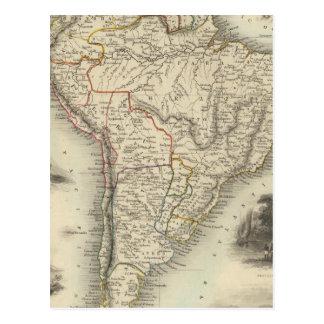South America 35 Postcard