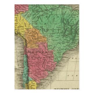 South America 37 Postcard