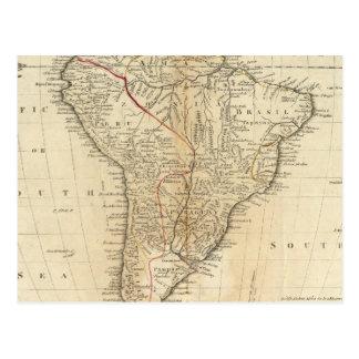 South America 38 Postcard