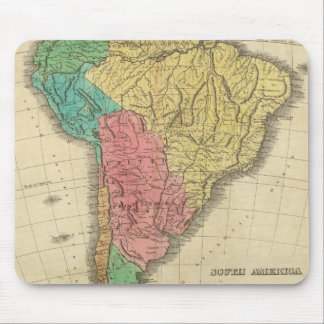 South America 39 Mouse Pad