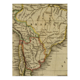 South America 3 Postcard