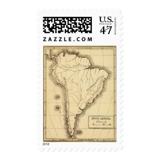 South America 4 Postage Stamp
