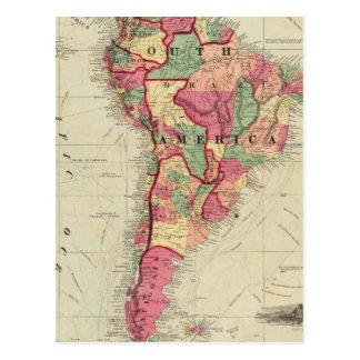 South America 4 Postcard