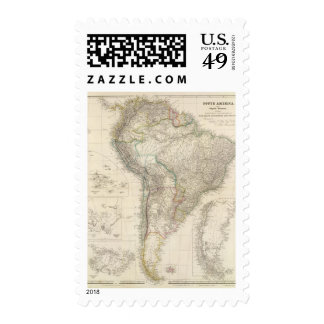 South America 6 Stamps