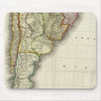 South America and West Indies Mouse Pad