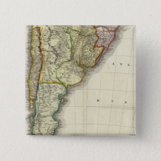 South America and West Indies Pinback Button