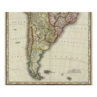 South America and West Indies Poster