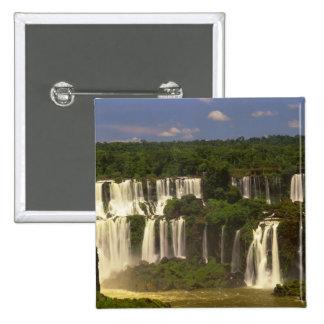 South America, Argentina, Brazil, Igwacu Falls, Pinback Button