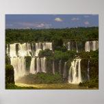 South America, Argentina, Brazil, Igwacu Falls, Poster