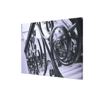 South America, Argentina, Buenos Aires. Hotel Canvas Print