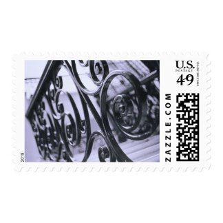 South America, Argentina, Buenos Aires. Hotel Postage Stamp