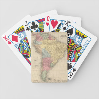South America. Bicycle Playing Cards