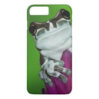 South America, Brazil, Amazon Basin. Close-up of 2 iPhone 8 Plus/7 Plus Case