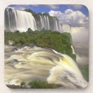 South America, Brazil, Igwacu Falls. Glorious Beverage Coaster