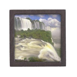 South America, Brazil, Igwacu Falls. Glorious Gift Box