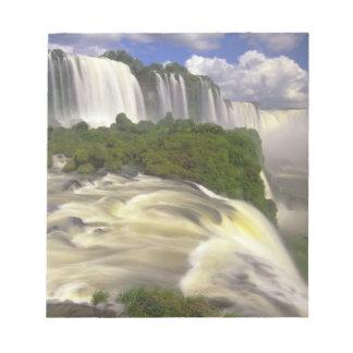 South America, Brazil, Igwacu Falls. Glorious Notepad