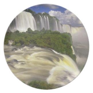 South America, Brazil, Igwacu Falls. Glorious Dinner Plates